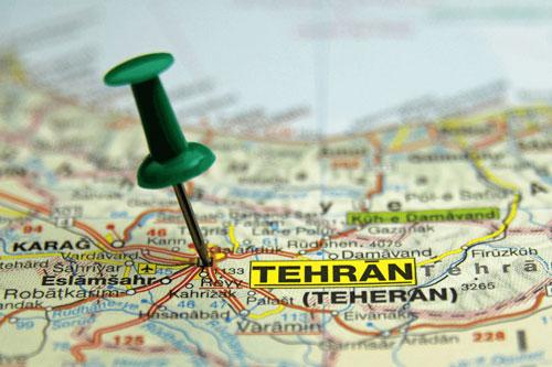 تهران-نقشه